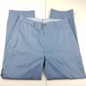 POLO RALPH LAUREN Chambray Cotton Pants
